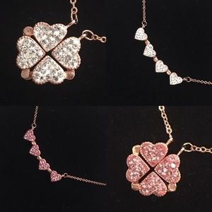 Jewelry - Rose Gold Lovers Luck Necklace